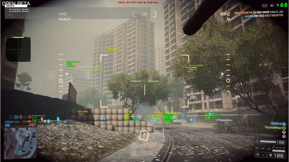скачать чит BF4 BETA - PUBLIC HOOK FOR WIN8